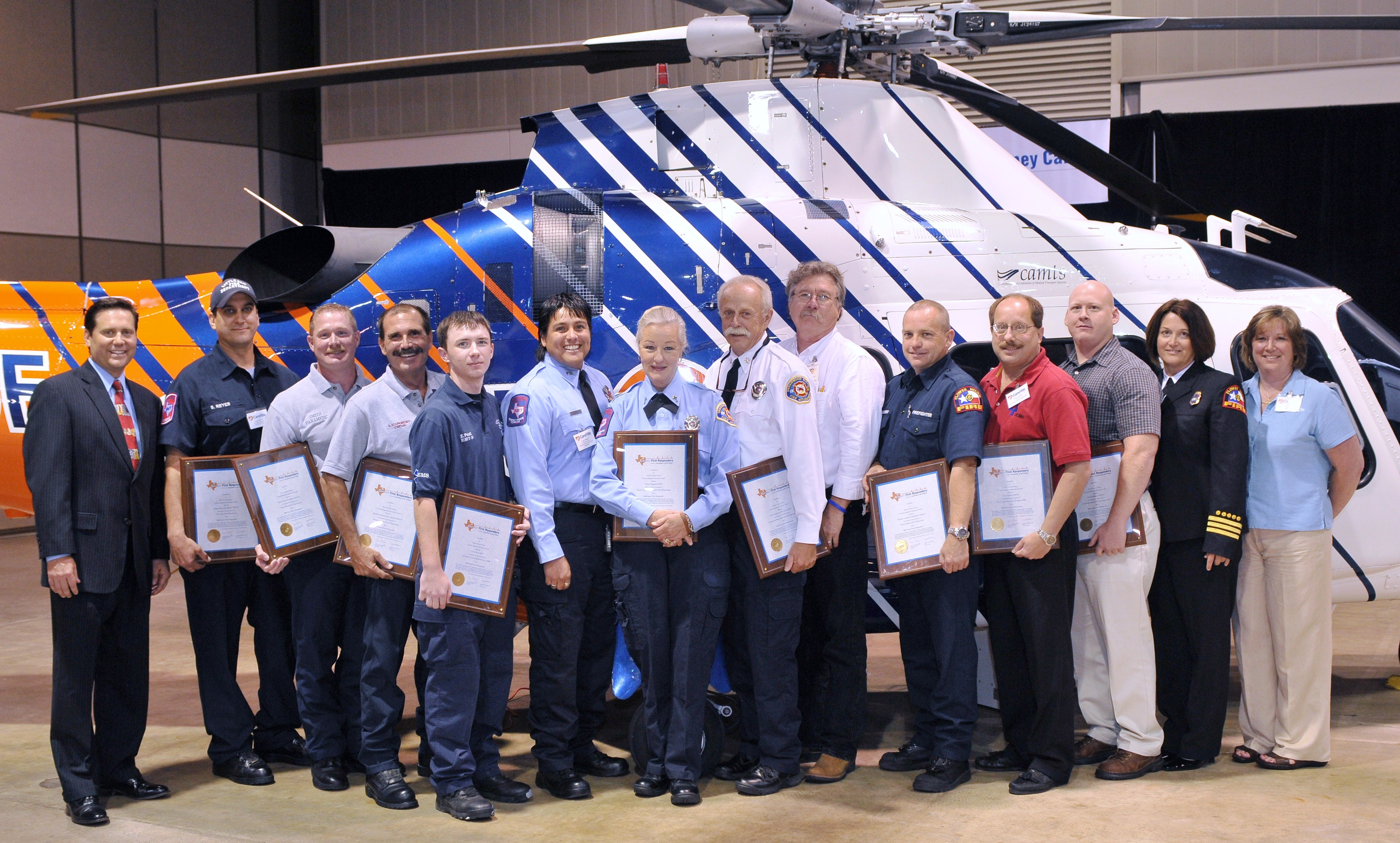 2008 Great First Responders Winners